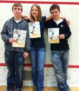 Domink, Philippa und Sascha